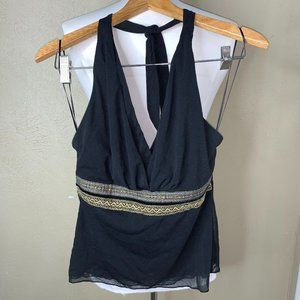 The Limited Halter Top Small Black